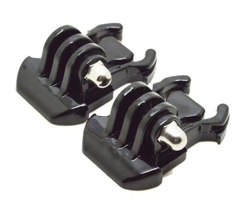2 x Quick Release Buckle Mount Clips Compatible with GoPro HD Hero 1 2 3 3+ 4