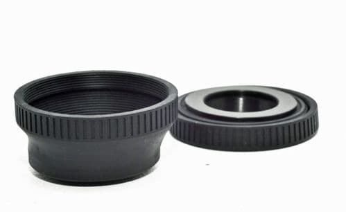 30.5mm  Collapsible Rubber Lens Hood