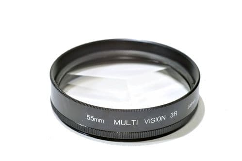 55mm Kood High Quality Glass Multi image x3 Filter Made in Japan 55mm