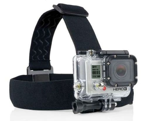 Adjustable Elastic Head Strap Harness Compatible for GoPro Session 4/3+/3/2/1