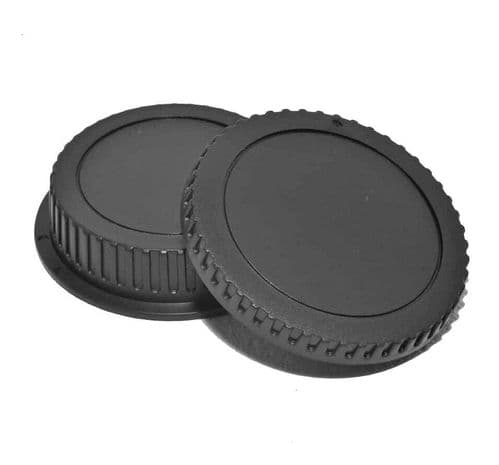 Canon EOS EF Body & Back Cap Set