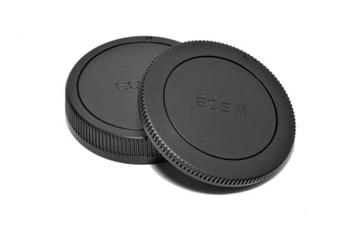 Canon EOSM Body & Back Cap Set