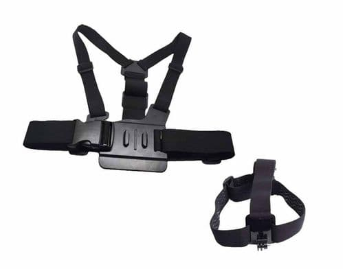 Chest & Head Harness for Gopro Hero 5/6/7/8/9