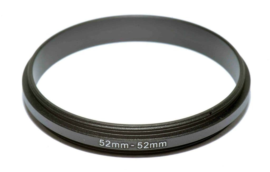 52-67mm MALE TO MALE Double Coupling Ring Adapter 52 to 67 Male Thread UK STOCK
