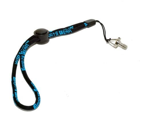 """Hand Wrist Strap Adjustable Lanyard & 1/4"""" Screw for all 1/4"""" Threaded Devices"""