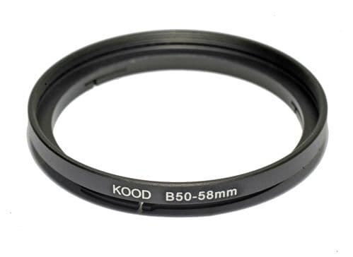 Hasselblad B50-58mm Stepping Ring