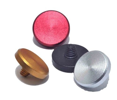 High Quality Flat Shutter Button Soft Release Set  Black Red Gold Silver