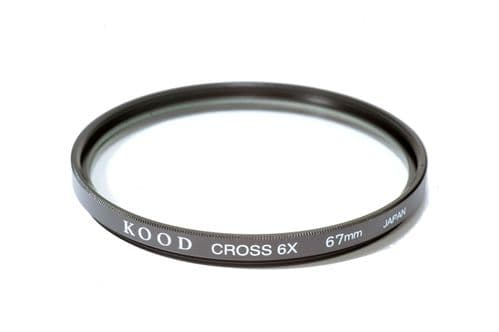 High Quality Kood Glass 67mm Starburst x6 Filter Made in Japan