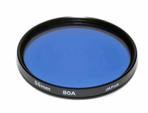 High Quality Optical Glass 80A Filter Made in Japan 55mm Kood