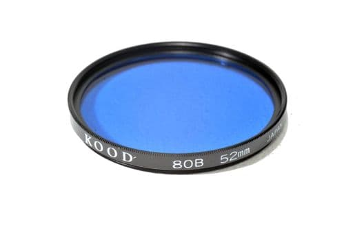 High Quality Optical Glass 80B Filter Made in Japan 52mm Kood