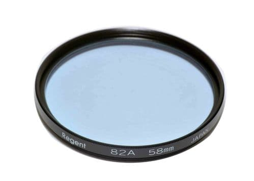 High Quality Optical Glass 82A Filter Made in Japan 58mm Regent (Kood)