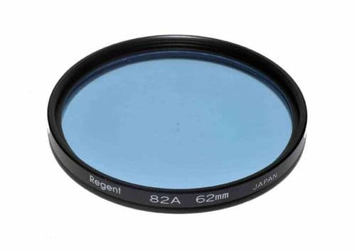 High Quality Optical Glass 82A Filter Made in Japan 62mm Regent (Kood)