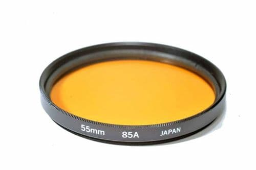 High Quality Optical Glass 85A Filter Made in Japan 55mm Kood