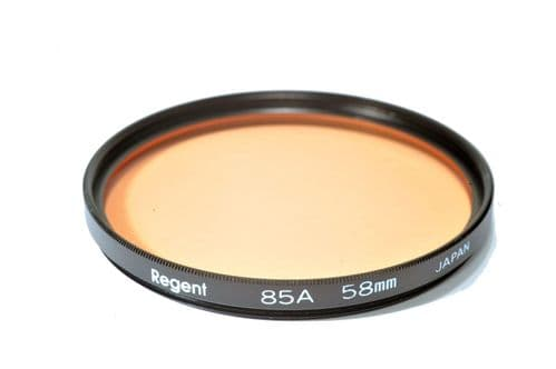 High Quality Optical Glass 85A Filter Made in Japan 58mm Kood