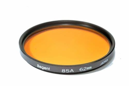 High Quality Optical Glass 85A Filter Made in Japan 62mm Regent (Kood)