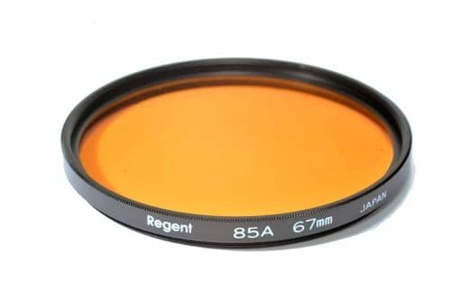High Quality Optical Glass 85A Filter Made in Japan 67mm Regent (Kood)