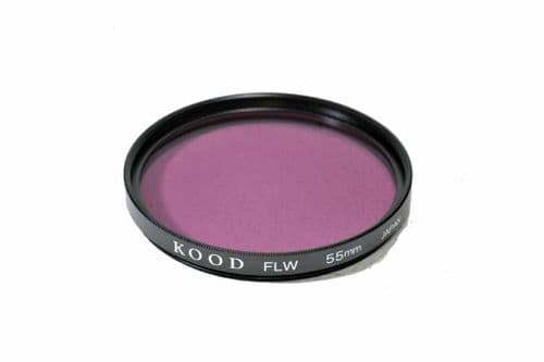 High Quality Optical Glass FLW Filter Made in Japan 55mm Kood