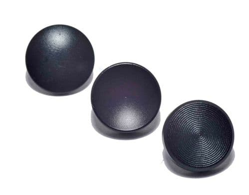 High Quality Shutter Button Soft Release Set Metal Flat/Concave/Convex Black