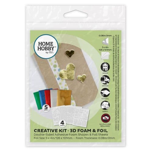 HOMEHOBBY by 3L Creative Kit • 3D Foam & Foil