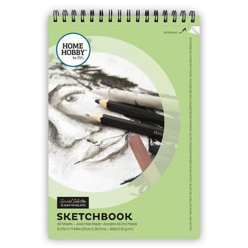 HOMEHOBBY by 3L Sketchbook 40 sheets
