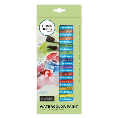 HOMEHOBBY by 3L Watercolor Paint 12 x 12ml tubes