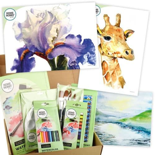 HOMEHOBBY by 3L Watercolor Studio Kit Plus • Iris by Robin Berry • Intermediate