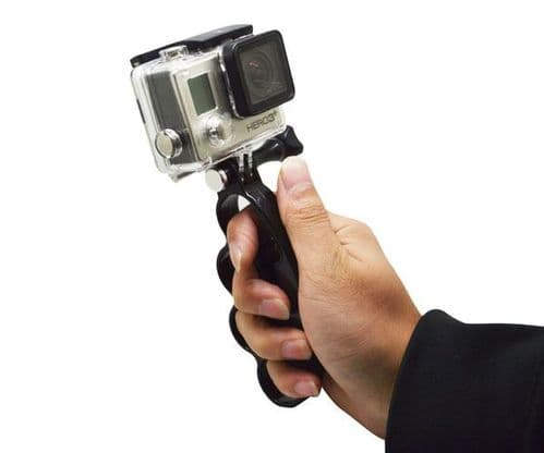 Knuckles Hand Finger Grip Mount Handle Holder GoPro Session Hero 4/3+/3/2/1