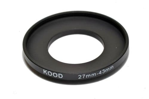 Kood 27mm - 43mm Stepping Ring