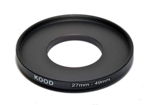 Kood 27mm - 49mm Stepping Ring