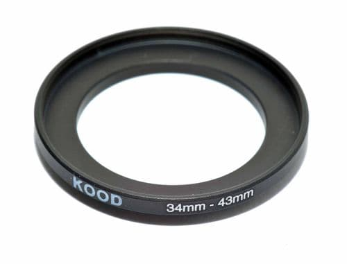 Kood 34mm - 43mm Stepping Ring