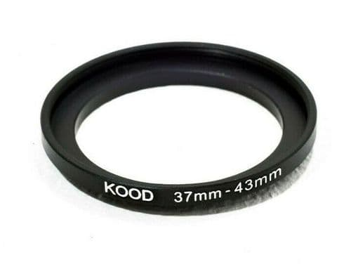 Kood 37mm - 43mm Stepping Ring