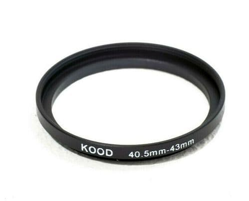 Kood 40.5mm - 43mm Stepping Ring