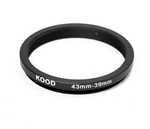 Kood 43mm - 39mm Stepping Ring