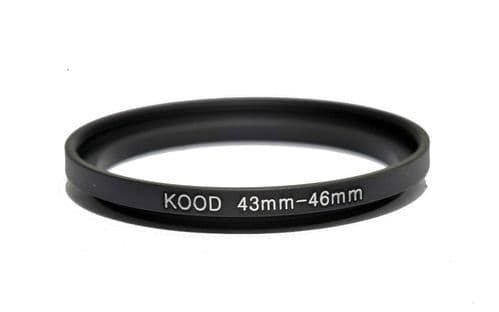 Kood 43mm - 46mm Stepping Ring