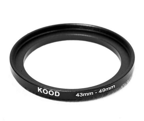 Kood 43mm - 49mm Stepping Ring