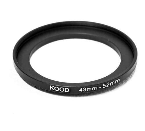 Kood 43mm - 52mm Stepping Ring
