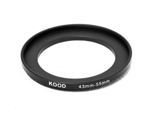Kood 43mm - 55mm Stepping Ring