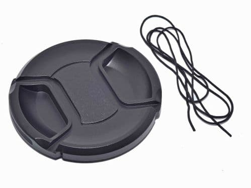 Kood Centre Grip Front Lens Cap 72mm & Keep Cord