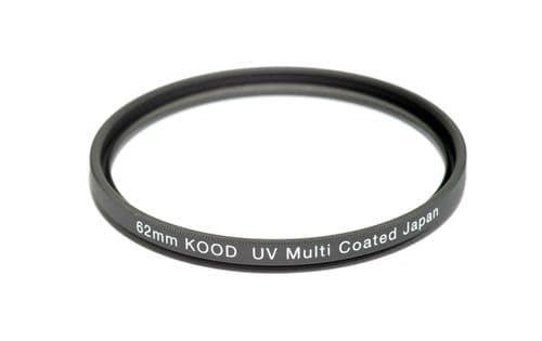 Kood High Quality Multi Coated Optical Glass UV Filter Made in Japan 62mm