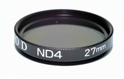 Kood High Quality ND4 Neutral density filter Made in Japan 27mm 2 stop Filter