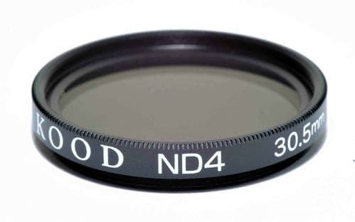 Kood High Quality ND4 Neutral density filter Made in Japan 30.5mm 2 stop Filter