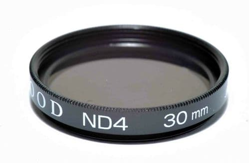 Kood High Quality ND4 Neutral density filter Made in Japan 30mm 2 stop Filter