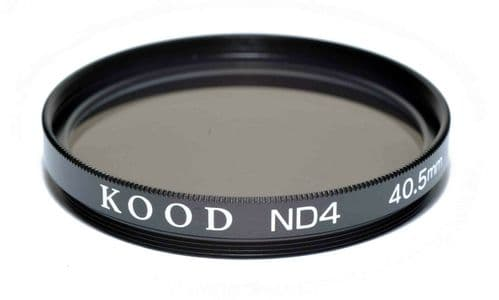 Kood High Quality ND4 Neutral density filter Made in Japan 40.5mm 2 stop Filter