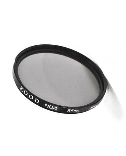 Kood High Quality ND4 Neutral density filter Made in Japan 55mm 2 stop Filter