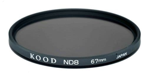 Kood High Quality ND8 Neutral density filter Made in Japan 67mm 3stop Filter