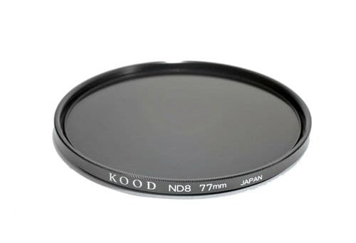 Kood High Quality ND8 Neutral density filter Made in Japan 77mm 3stop Filter