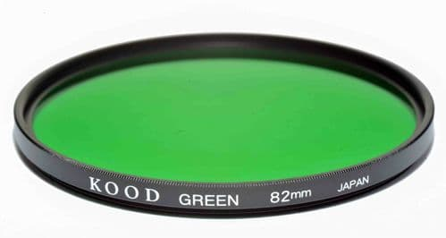 Kood High Quality Optical Glass Green Filter Made in Japan 82mm