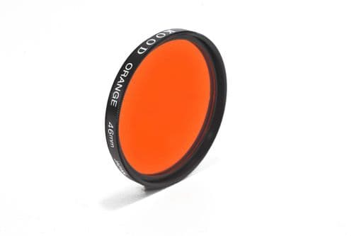 Kood High Quality Optical Glass Orange Filter Made in Japan 46mm