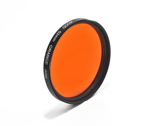 Kood High Quality Optical Glass Orange Filter Made in Japan 52mm
