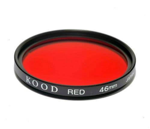 Kood High Quality Optical Glass Red Filter Made in Japan 46mm